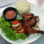 Home-made Chicken Rice